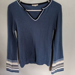 Blue lightweight sweater